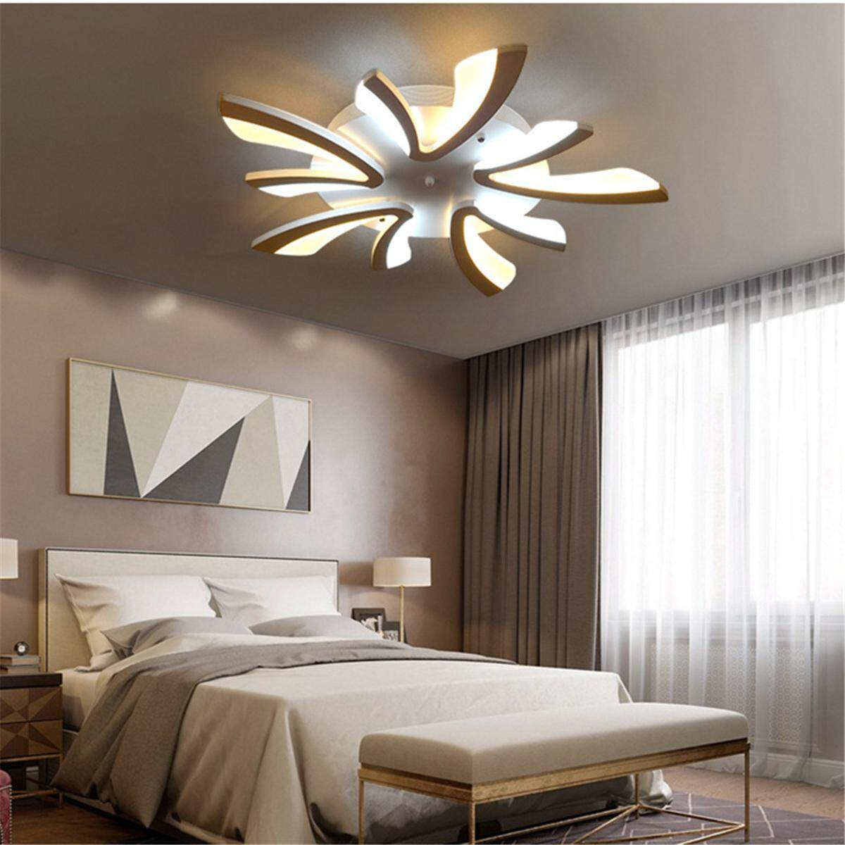 Dandelion Modern LED Acrylic Ceiling Light Chandeliers Living Room Bedroom  Lamp