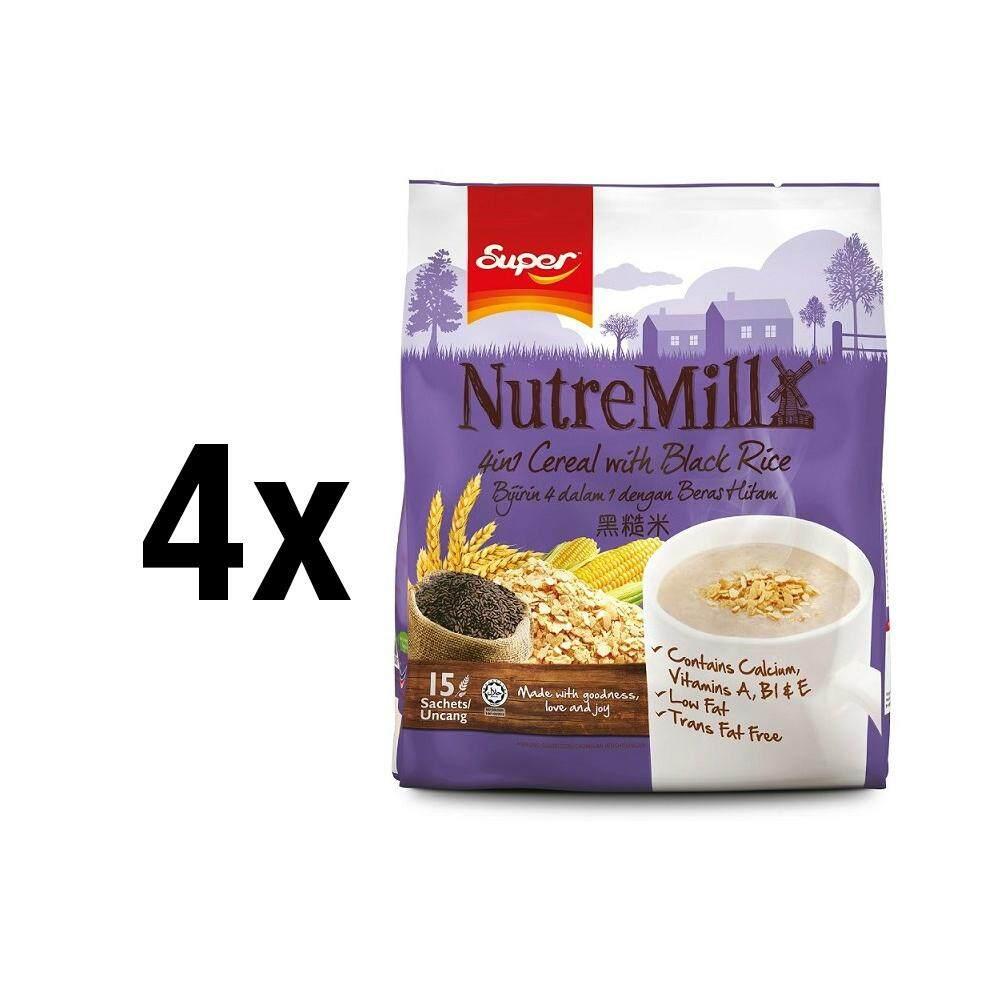 [bundle Of 4]    Céréale Super Nutremill 4in1 avec riz noir dans la boutique officielle Super.