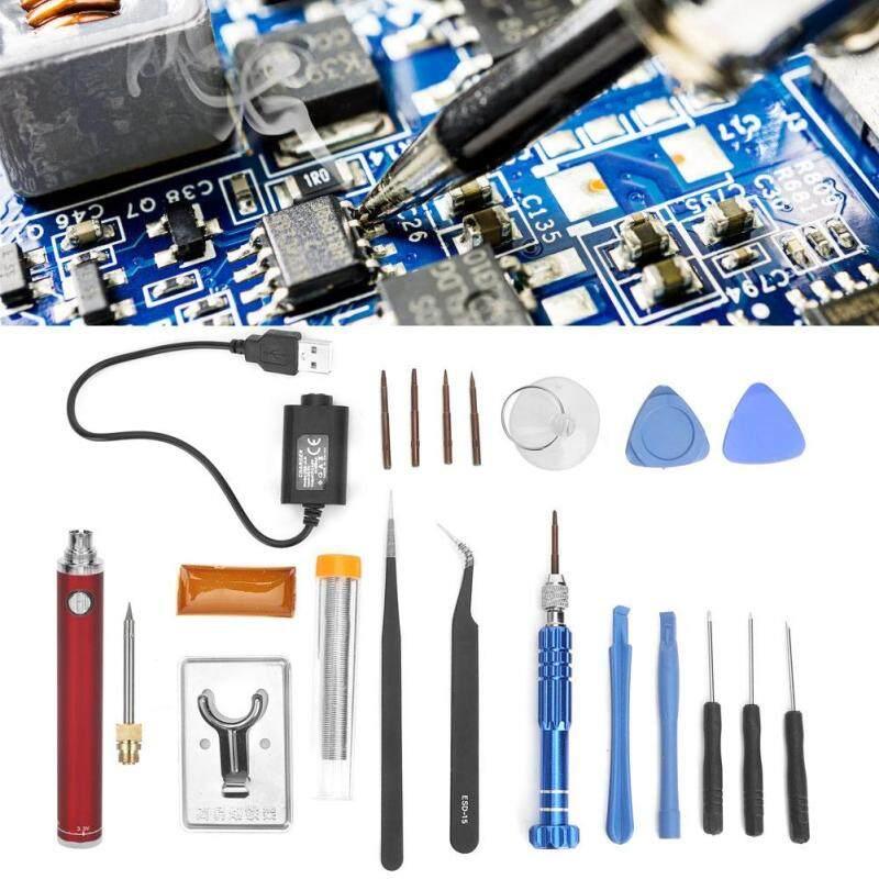 Bộ Mỏ Hàn Sạc USB, Bút Sắt Hàn Điện Không Dây Cầm Tay Dụng Cụ Hàn