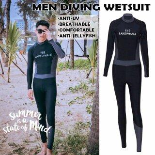 Bộ Đồ Lặn Nam Nữ Scuba Diving Wetsuit Bộ Đồ Bơi Lặn Mũi Nhọn Chống Tia UV Lướt Sóng thumbnail
