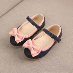 Giày Công Chúa Thắt Nơ Cho Trẻ Em, Ngọt Ngào Dễ Thương Bé Gái, Giày Đi Hàng Ngày, Tham Khảo Bảng Kích Cỡ EU