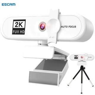 ESCAM, Máy Tính Xách Tay USB Tự Động Lấy Nét 2K Full HD Máy Tính Xách Tay Webcam Webcam Hội Nghị Video Phát Trực Tiếp Có Micrô Tích Hợp thumbnail