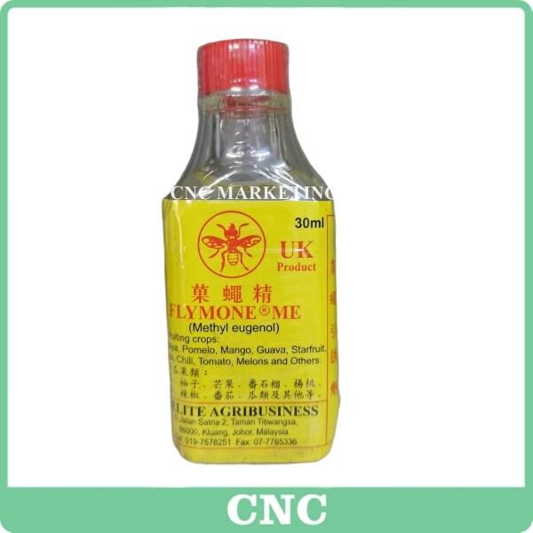30ML Fruit Fly Attractant Lure (Methyl Eugenol) Pemikat Lalat Buah Flymone UK Pheromone Superlure