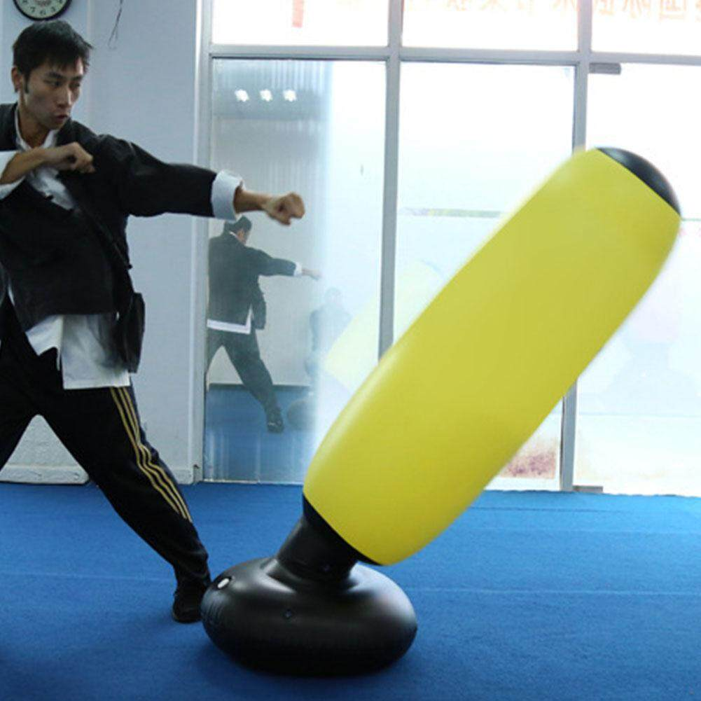 Pressure Relief Tumbler Type Punching Training Inflatable Free Standing  Children Adults Boxing Bag