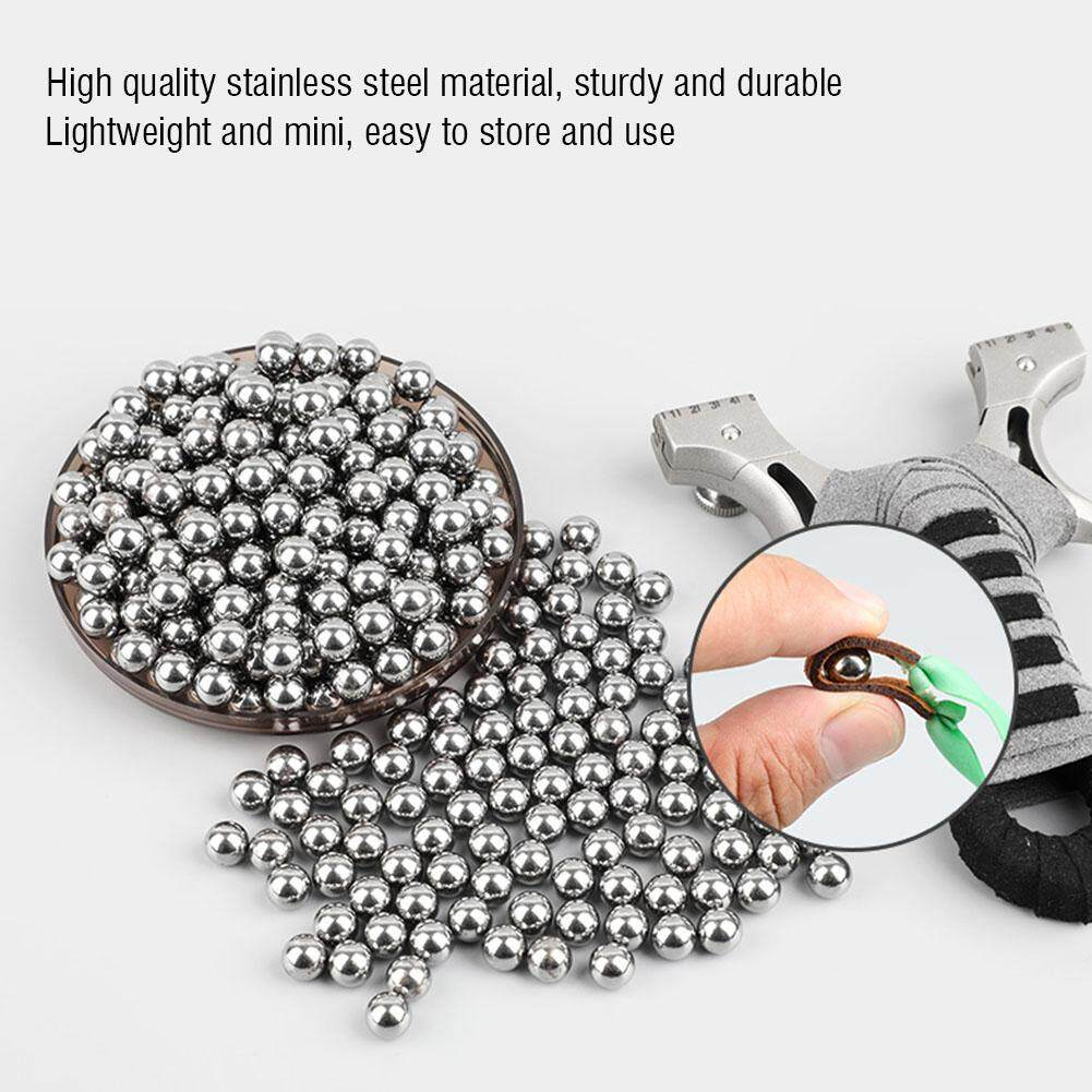 100pcs 8mm Stainless Steel Ball Hunting Catapult Slingshot Bearing Ammo Adult Game By Bestgroup.
