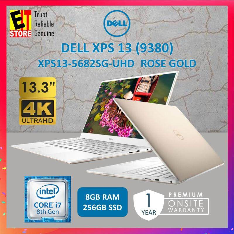 DELL XPS 13 (9380) XPS13-5682SG-UHD ROSE GOLD (I7-8565U/8GB/256GB/INTEL/13.3 UHD/W10/1YR) Malaysia