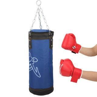 WFS Children Sanda Huấn Luyện Đấm Bốc Treo Túi Cát Tập Thể Dục Tập Thể Dục Nổi Bật Rỗng Rỗng Túi Cát Đấm Bốc Thái Taekwondo thumbnail