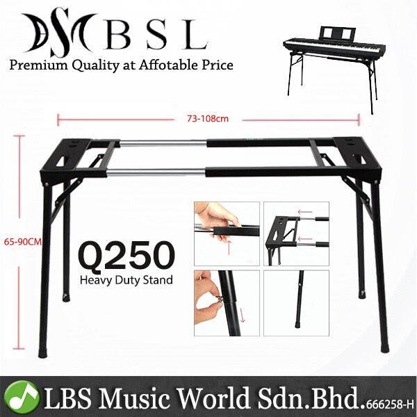 BSL Q-250 Heavy Duty Adjustable Digital Electronic Synthesizer Arranger Workstation Piano (Q250) Malaysia
