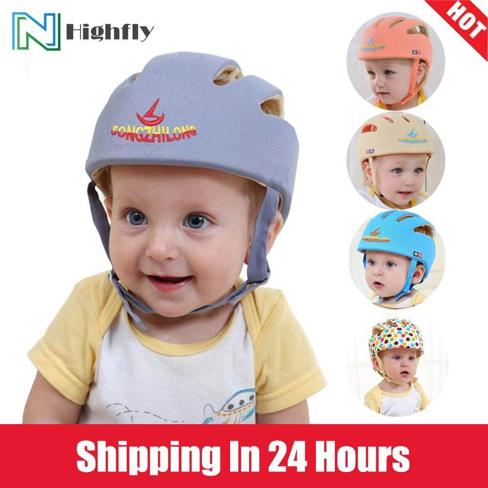 Infant Baby Kid Safety Helmet Toddler Head Protective Hat for Walking Crawling