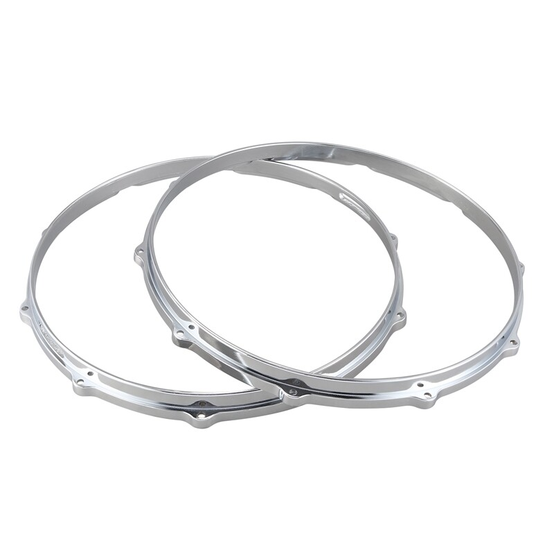 1Set 14Inch Snare Drum Hoop Ring Rim Percussion Instrument Parts Accessories