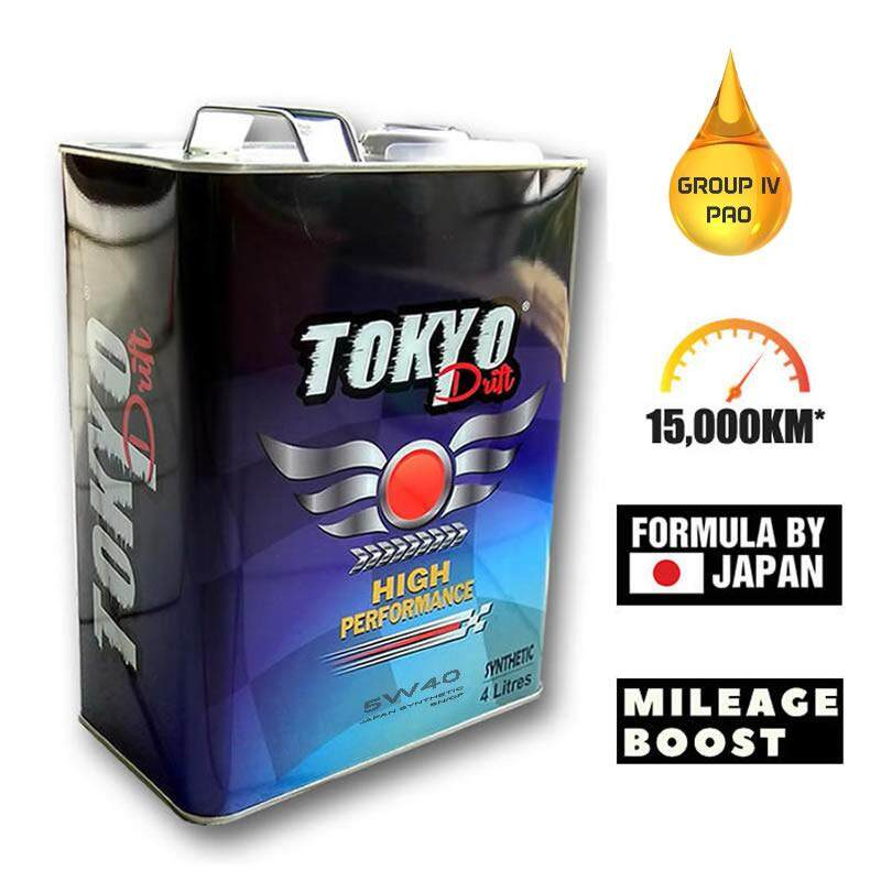 [free Shipping] 5w40 Fully Synthetic Engine Oil Tokyo Drift 15,000km - 4l By Aims Auto.