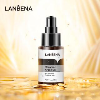 TInh dầu LANBENA Moroccan Argan nuôi dưỡng và kích thích mọc tóc 30ml - INTL thumbnail