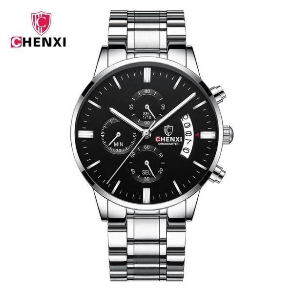 CHENXI Quartz Watch For Men 3 Dials Calendar Display Chronograph Waterproof Luminous Fashion Sports Watch 907 Malaysia