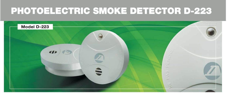 BATTERY OPERATED STANDALONE SMOKE ALARM SMOKE DETECTOR