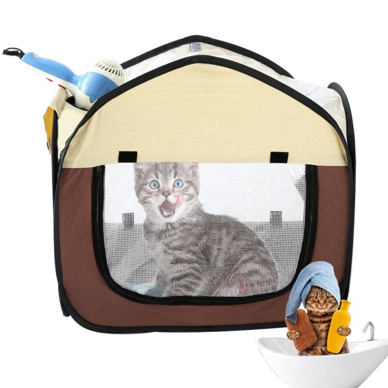 Docile Có Thể Gập Lại Pet Sấy Hộp Di Động Chó Mèo Máy Sấy Tóc Mèo Con Chó Con Chải Chuốt Cho Tóc Thổi