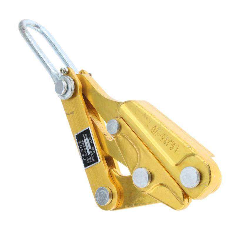 BolehDeals Wire Pulling Tightening Tool Thread Wire Clamp Strand Wire Grip 25-70