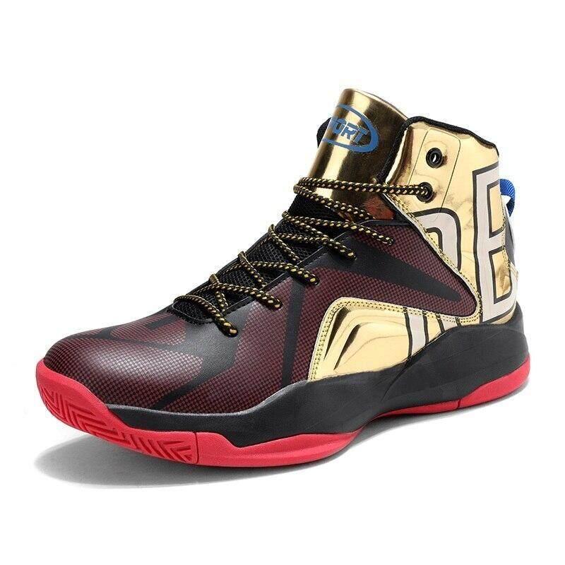 * Terbaru 3 Hari Promosi * Nike_Men Sepatu Basket 95 Sneakers JD Di Luar Ruangan LBJ Kulit Asli Gym Max Ukuran 47 AJ pijat 270 Zoom Pelatih