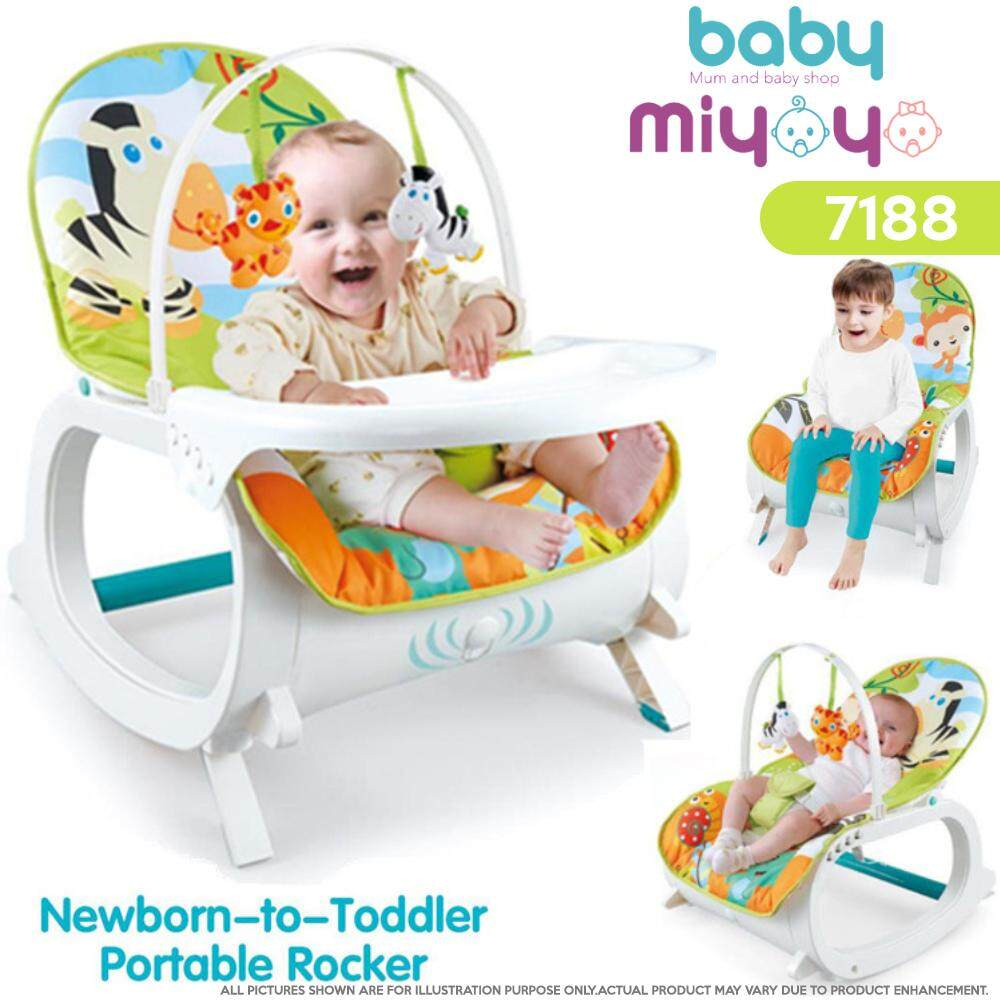 Baby MiyOyO Multipurpose New Born to Toddler Rocker Bouncer and Chair Baby Chair Baby Rockle (0-36 Months)