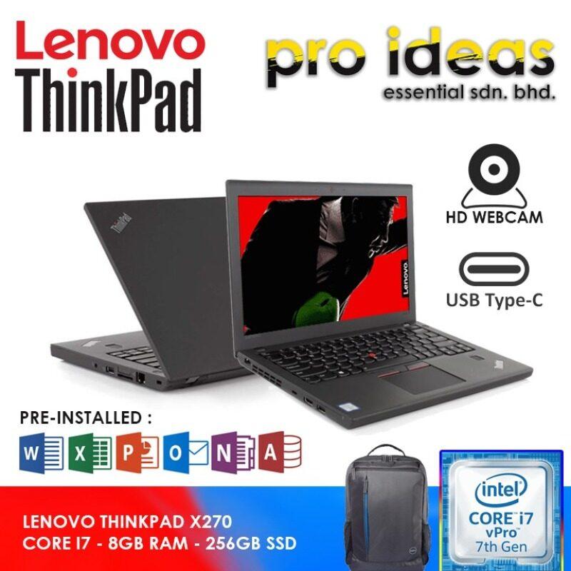 LENOVO THINKPAD X270 | CORE I7 | 8GB RAM | 256GB SSD Malaysia