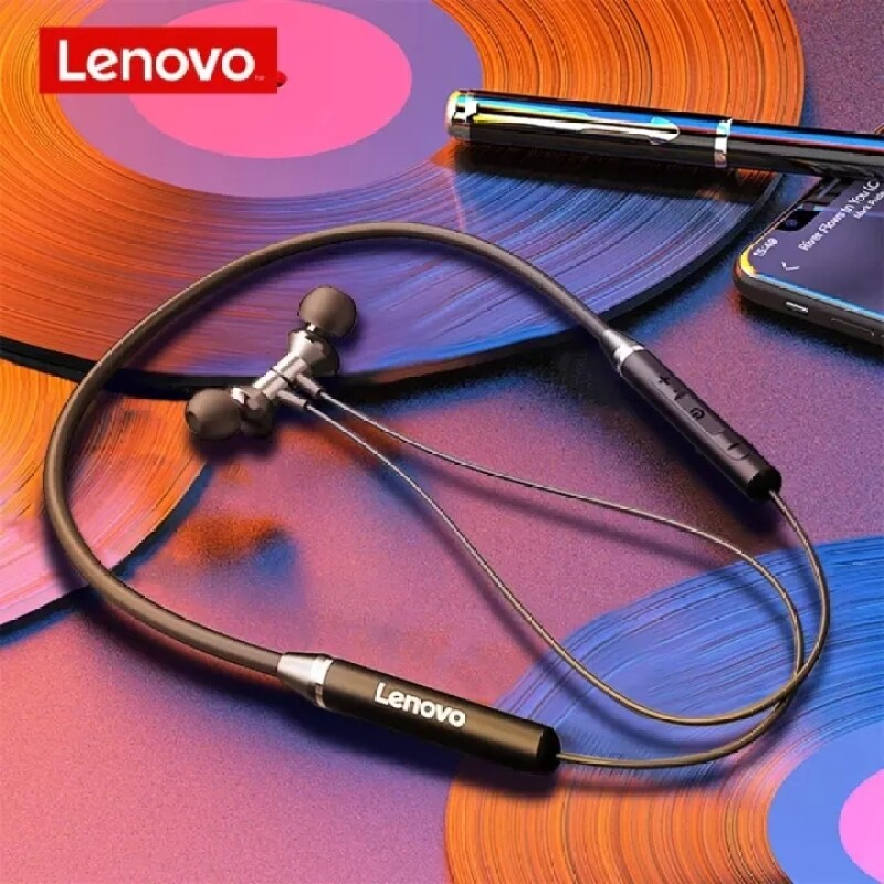 Lenovo XE05 Wireless Headset Waterproof Sport Earbud with Noise Cancelling Bluetooth-Compatible 5.0 Mic Magnetic Neckband Earphones Singapore