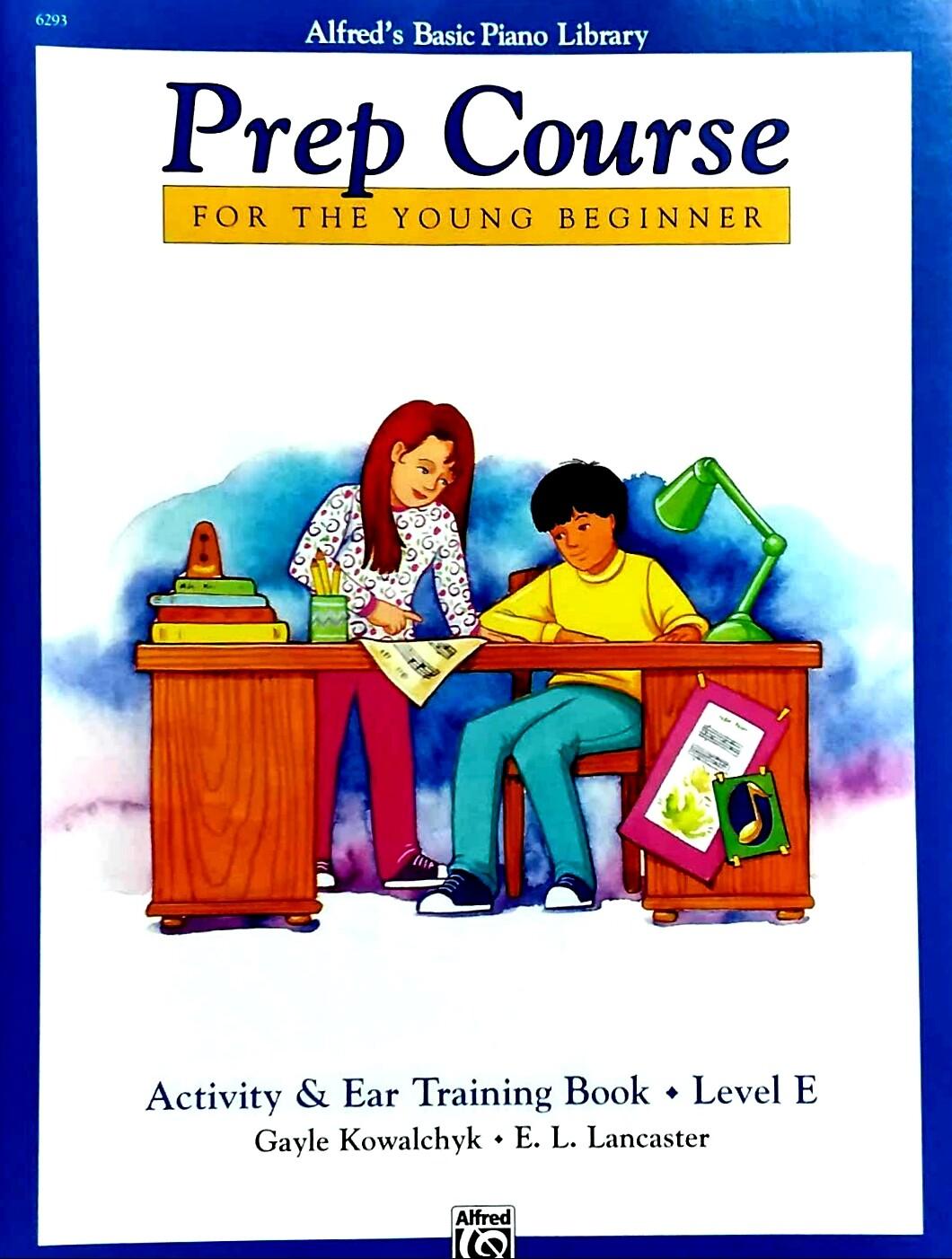 Alfred/'s Basic Piano Prep Course Activity /& Ear Training Book E 6293