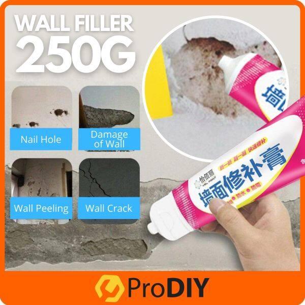 250g YBL Wall Filler Instant Repair Paste Mending Ointment Waterproof Peeling Crack Fix Cream Penutup Dinding Retak