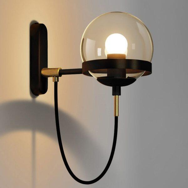 Đèn LED Tường Gác Xép Trang Trí Trong Nhà Đèn Tường Phòng Ngủ E27 110-220V Chiếu Sáng Gia Đình Hiện Đại Hành Lang Phòng Tắm