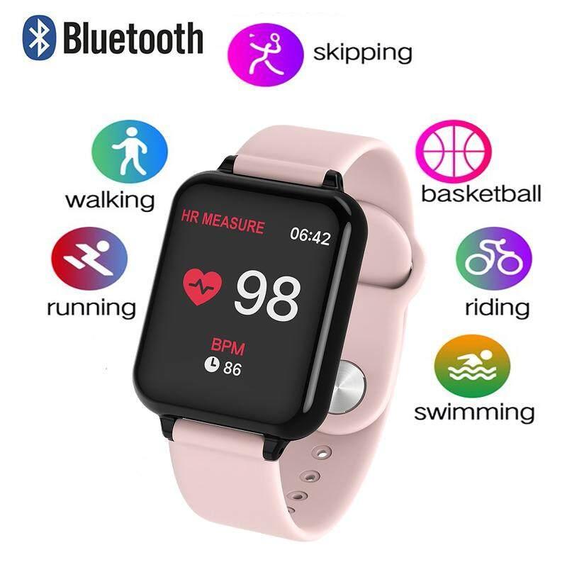 Nam Nữ B57 IP67 Chống Thấm Nước Đồng Hồ Thông Minh 1.3 IPS Nhịp Tim Theo Dõi Huyết Áp Đồng Hồ Thông Minh Smartwatch Đeo Thông Minh cho Huawei Samsung Xiaomi điện thoại