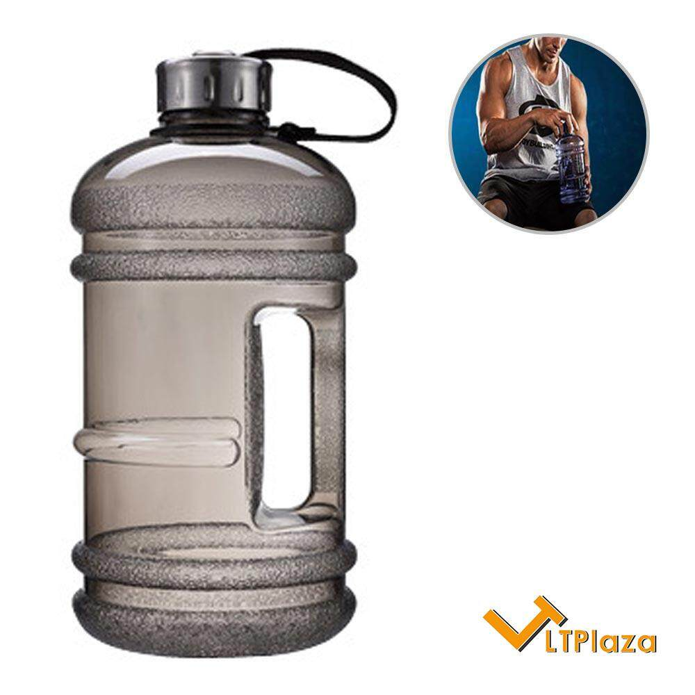 LTPlaza Water Jug 2 2L Large Sports Water Bottle Leakproof Giant Container  with Carrying Loop
