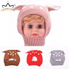 Tôi Yêu DADDY & Xác Ướp Mùa Đông Dễ Thương Tai Hươu Bé Hat Cap Knit Mềm Bé Trai Cô Gái Hat Bonnet Beanie Trẻ Em Trẻ Em Hat Sơ Sinh Bé Mùa Đông Muts