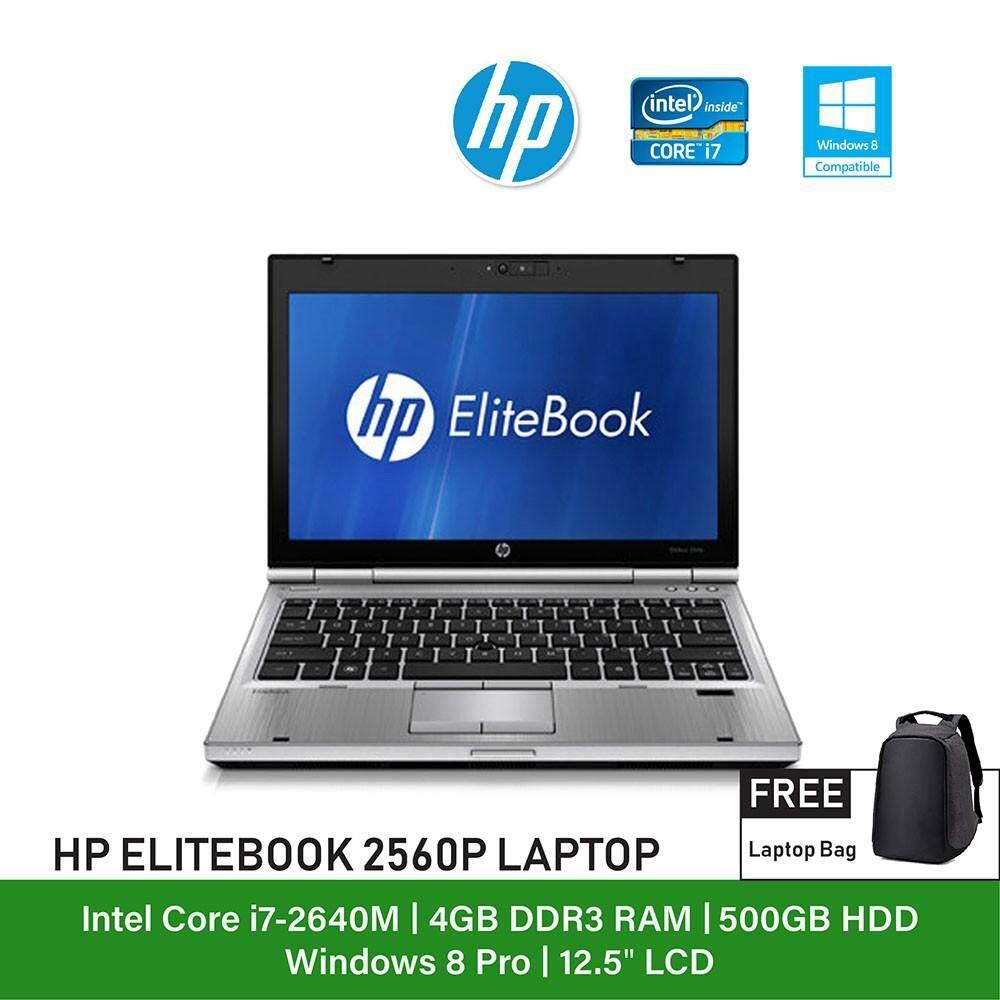 (Refurbished Notebook) HP Elitebook 2560P Laptop / 12.5 inch Display / Intel Core i7 / Windows 7 Malaysia