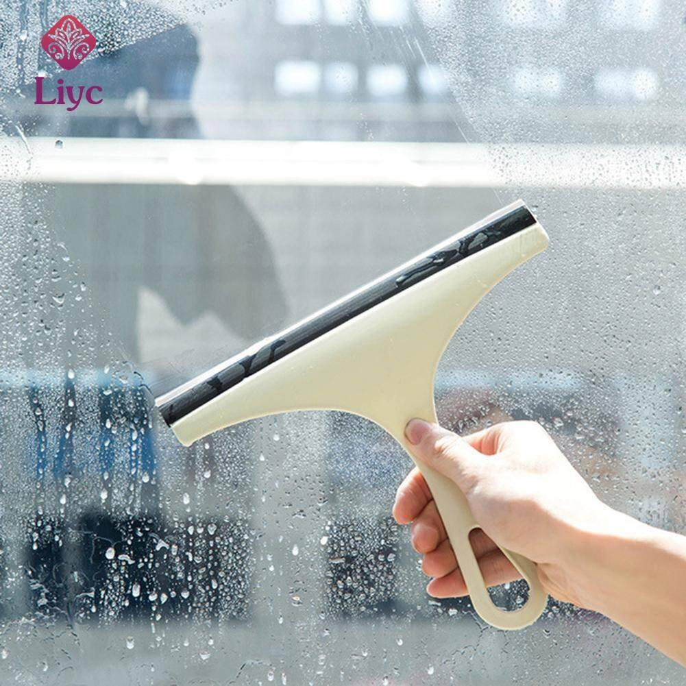 Liyc Multipurpose Glass Scraper Window Brush Car Windshield Cleaner Brush Window Glass Cleaning Floor Household Tools Water Wiper Soap Cleaner Windshield Accessories Washing Kitchen bathroom Tools