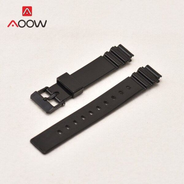 Resin Watchband for Casio LRW-200H Women Sport Waterproof Replacement Bracelet Band Strap Watch Accessories Black White Malaysia