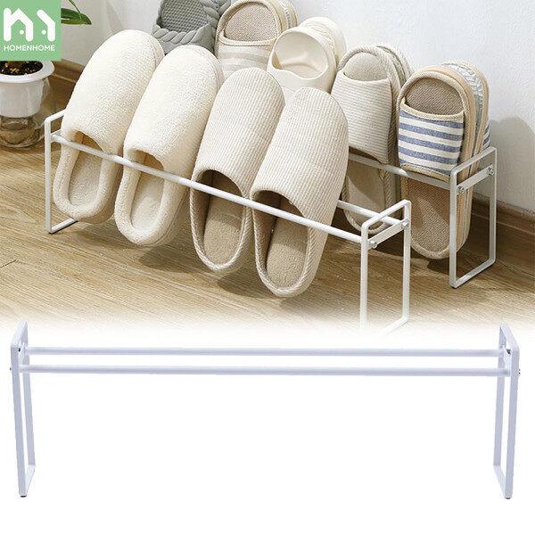 Homenhome 1 pcs Shoe Storage Rack Drain Slipper Shelf