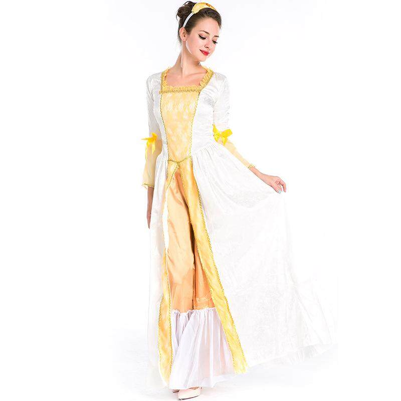 8a06edf42ccc Dolaplay Brand Halloween Costumes European Queens Dresses Medieval Retro  Court Dresses Greek Goddess Costumes