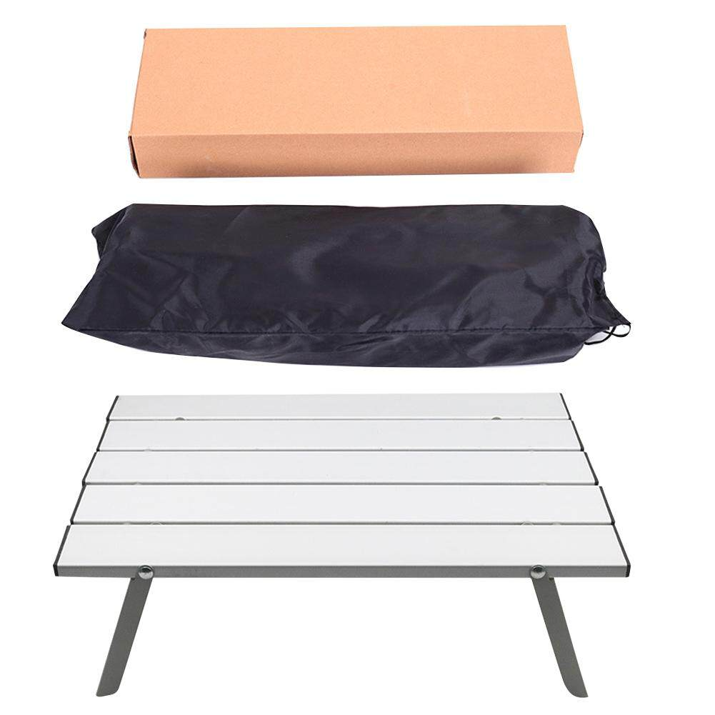 Practical Easy Installation Save Space Aluminum Alloy Outdoor Furniture Home Picnic Foldable Travel Portable Camping Tables