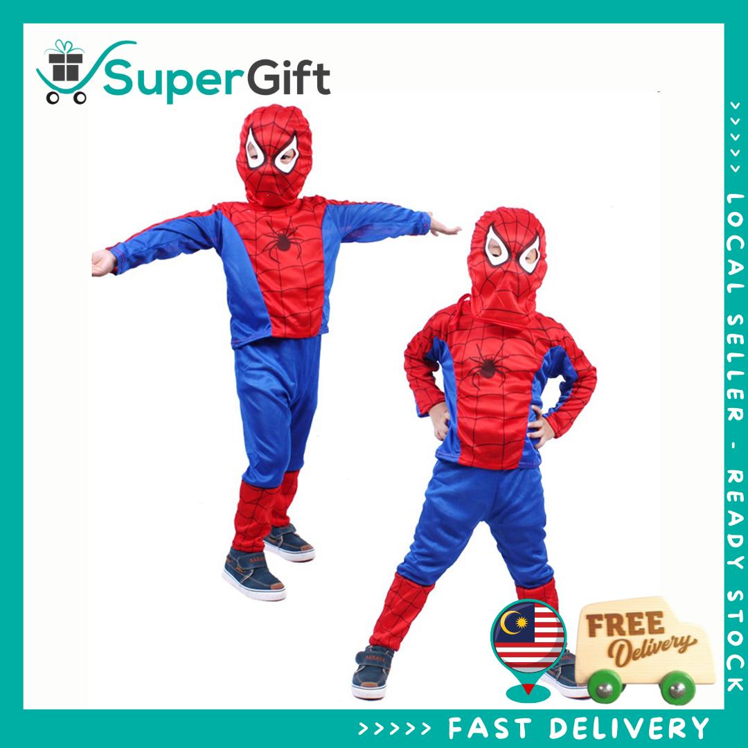 Kids Spiderman Costume Superhero Costume