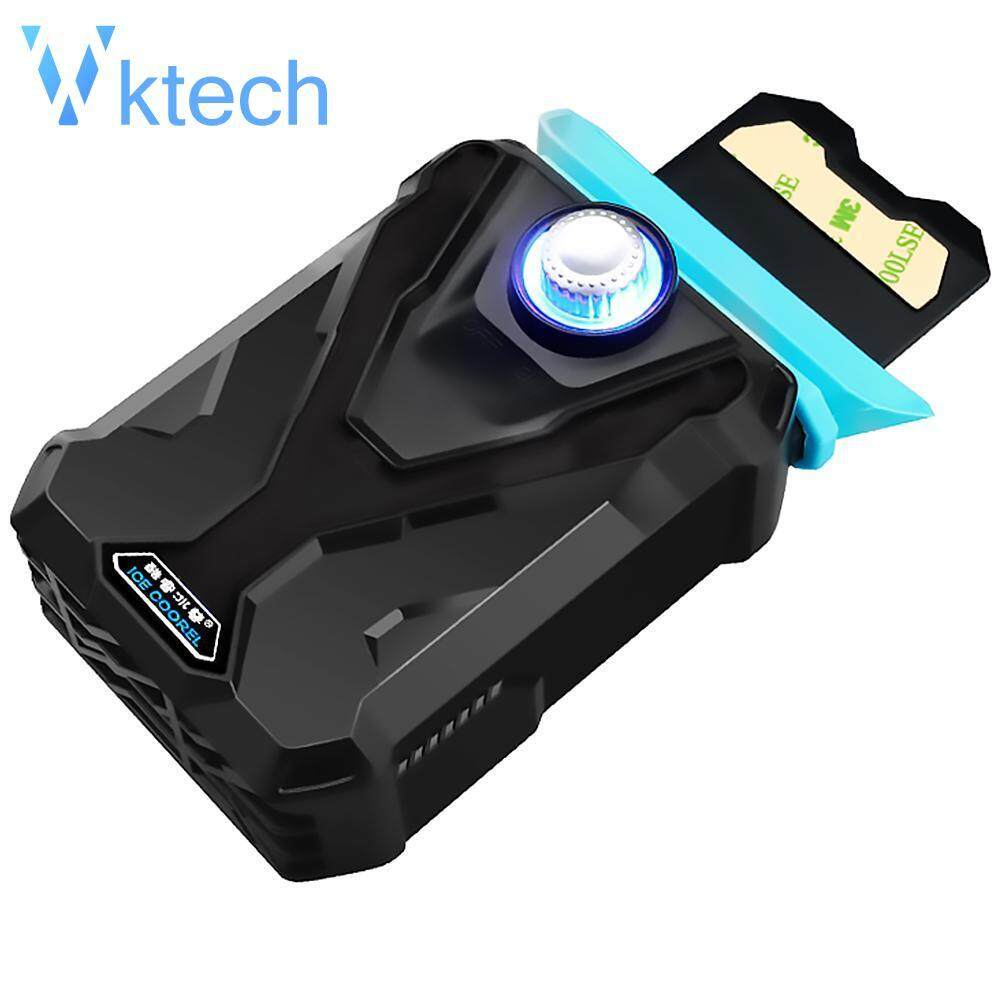 [Vktech] F1 Portable Suction Type Notebook Laptop Cooler USB Air External  Extracting Cooling Pad Ventilation Fans