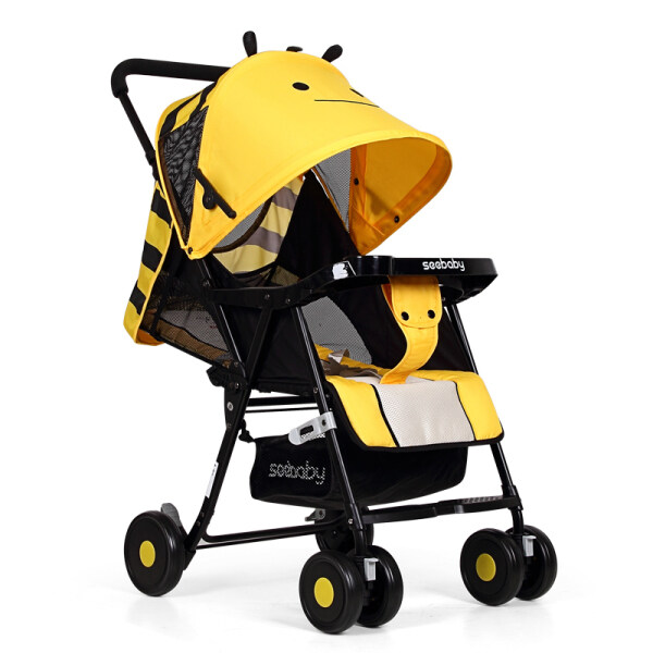 Seebaby QQ3 Lightweight Stroller (Yellow Little Bee) Singapore