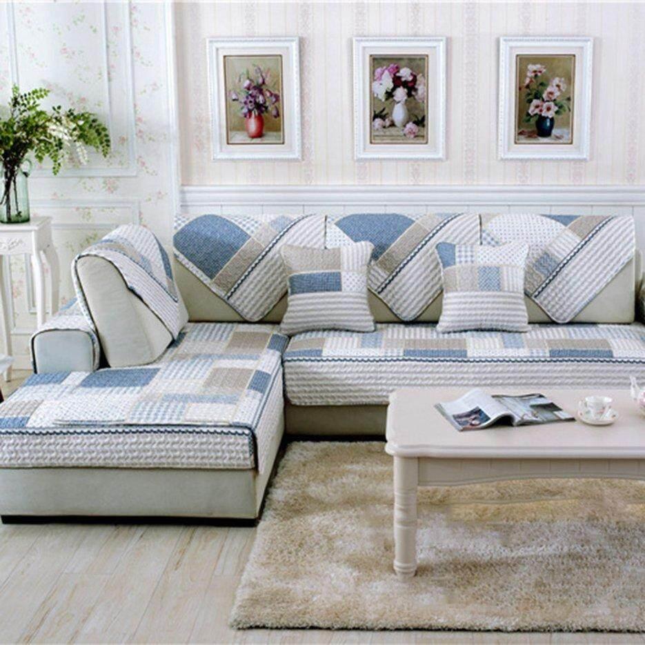 Hot Sellers Universal Modern Sofa Furniture Seats Mat Cotton Non-Slip Cover Pad 90*160cm