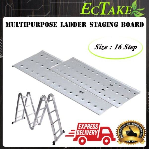 #24hour shipping# 16 Step Staging Board For Aluminium Multipurpose Ladder walking platform Staging Board only (2pcs Per Set)