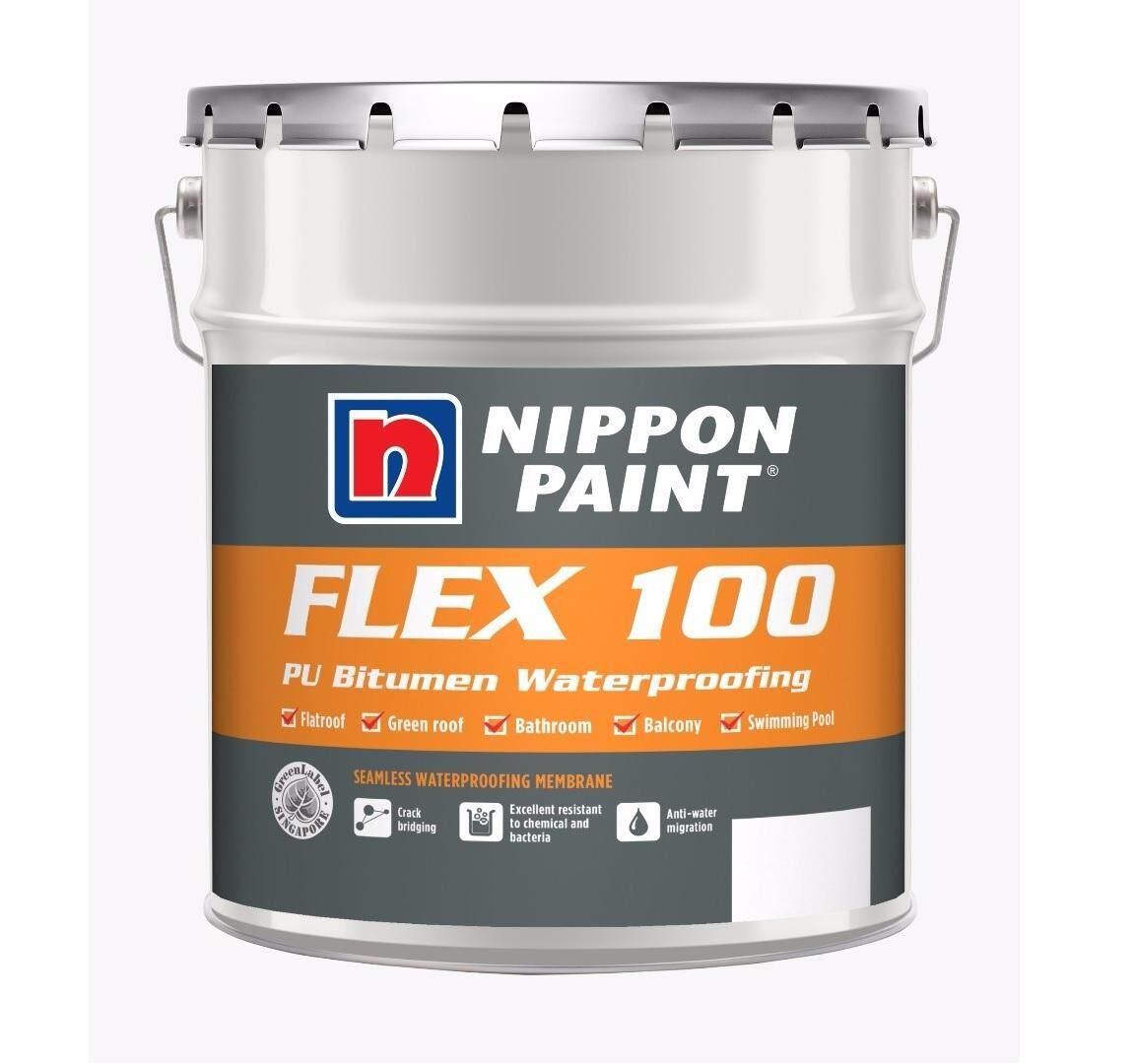 20KG NIPPON FLEX 100 WATER-BASED PU BITUMINOUS WATERPROOFING