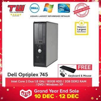 Dell Optiplex 745 C2D 1.8 / 2GB RAM / 80GB HDD / Windows XP / 3 Months Warranty (SPECIAL OFFER)