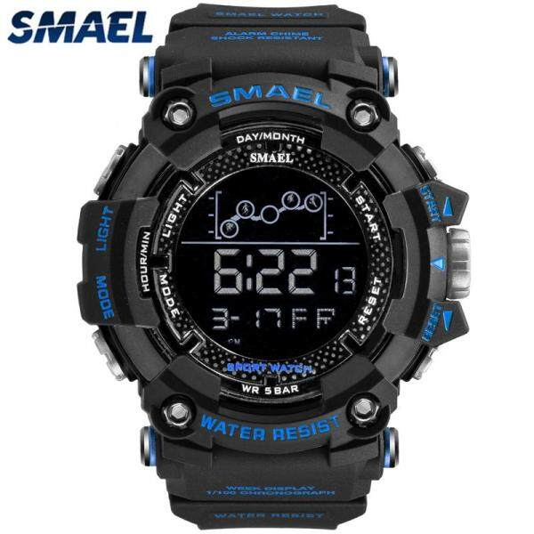 LazChoice SMAEL Waterproof Sports Casual Mens Watches Top Brand Luxury Fashion LED Digital Electronic Military Chronograph Watch Malaysia
