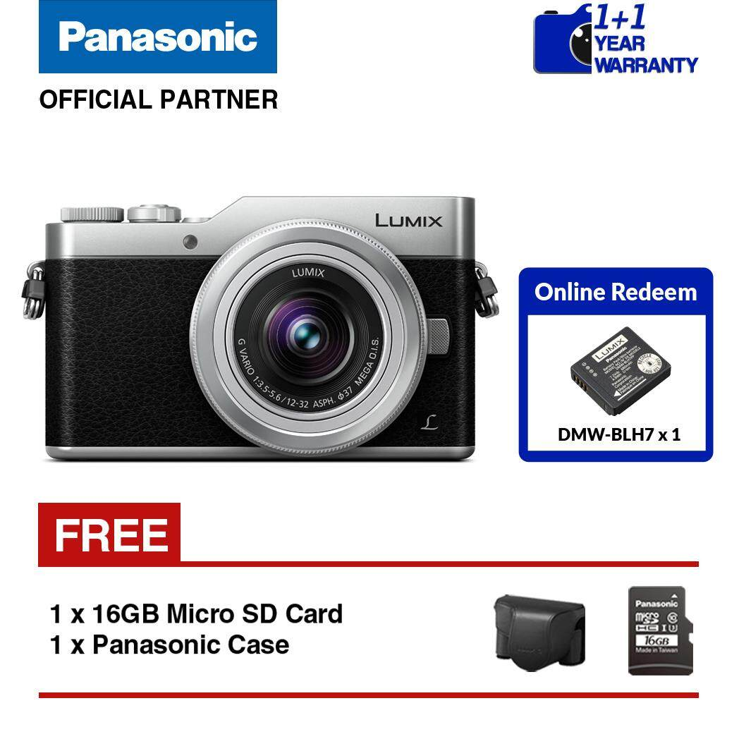 Panasonic Lumix DC-GF9 Mirrorless Camera with 12mm - 32mm Lens Kit (Silver)