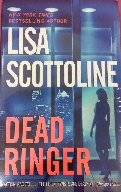Dead Ringer Lisa Scottoline Fiction Novel By Little Red Riding Book.