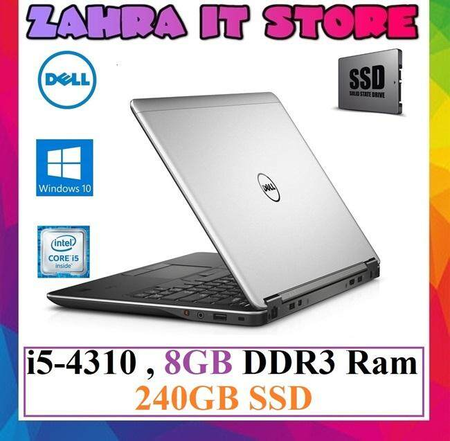 Refurbished Dell Latitude e7440 Ultrabook / Intel Core i5-4th Gen / 8GB DDR3L Ram / 240GB SSD Malaysia