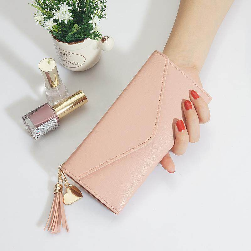Kstyle Ultra Slim Multi Card Slot Korean Fashion Design Premium PU leather Women soft Card Purse