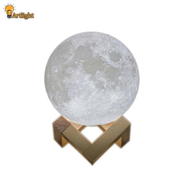 Bảng giá Đèn Mặt Trăng In 3D Có Thể Sạc Lại, Công Tắc Đổi 2 Màu Đèn Ngủ Tủ Sách Phòng Ngủ