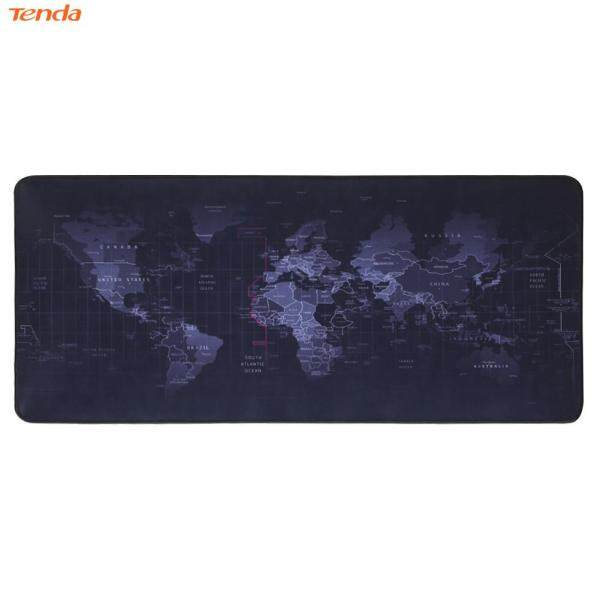 World Map Natural Rubber Large Gaming Mouse Pad Computer Keyboard Desk Mat Malaysia
